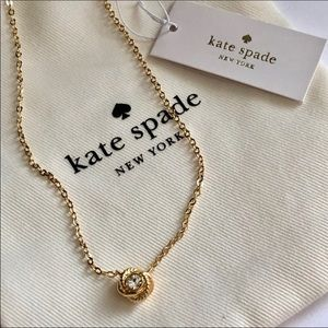 New Kate Spade ♠️ infinity necklace